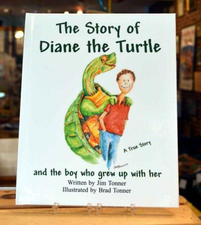 Diane The Turtle Hardcover Book
