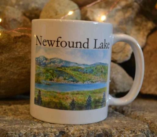 Newfound Lake Scene Mug